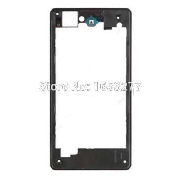 Rear Housing Middle Plate Frame Spare Part for Sony Xperia Z1 Compact D5503 Middle housing - Black