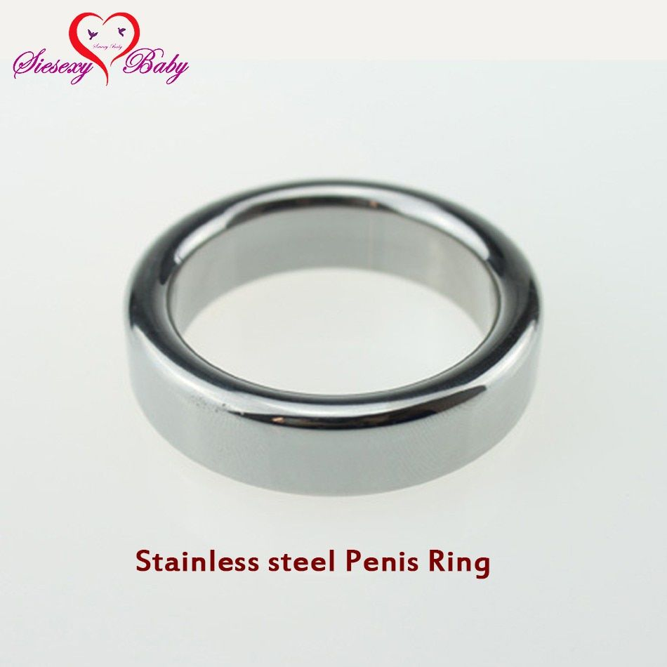 Stainless steel Penis Ring Penis Sleeve sex toys Cock Ring delay fun male sperm Cocking ring male chastity device for Adult game