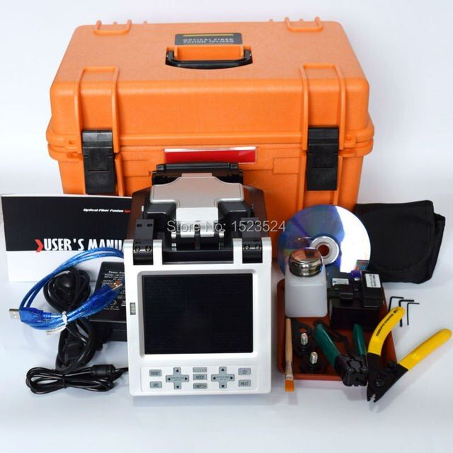 SM&MM Automatic FTTH Fiber Optic Splicing Machine Optical Fiber Fusion Splicer