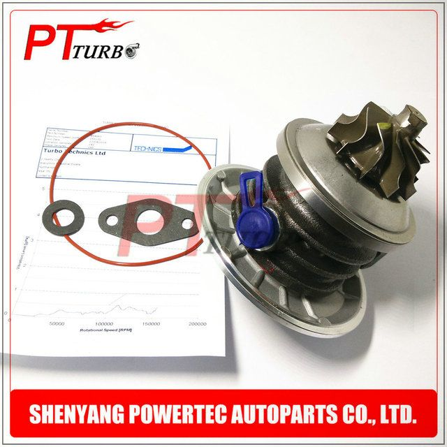Powertec turbo parts GT1544S turbo core assembly chra 454083 / 1002829 1010435 1106003 turbo cartridge for Ford Galaxy 1.9 TDI