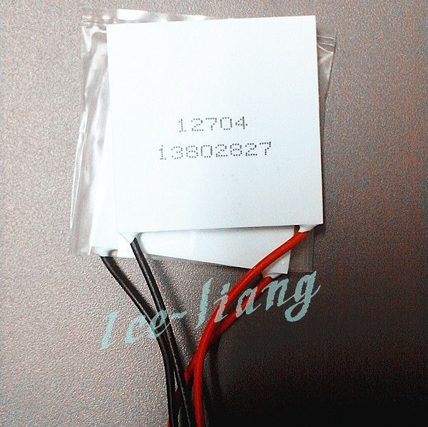 2PCS/LOT TEC1-12704 40*40 12V4A 12704 TEC 2PCS Thermoelectric Cooler Peltier  New of semiconductor refrigeration  FREE shipping