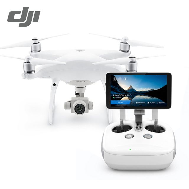 DJI Phantom 4 Pro+ (Include Display) Drone with 4K HD 60fps Camera 1 inch 20MP CMOS 5 Direction Obstacle Sensing Quadcopte