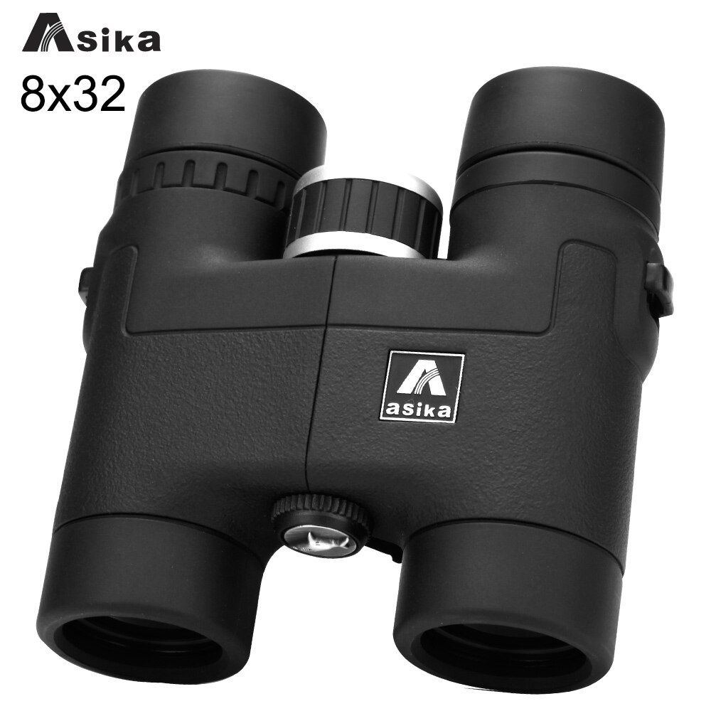Asika 8x32 Multi-color Binoculars Comact Binoculars Free Shipping with Neck Strap Carry Bag for Camping Powerful Binoculars