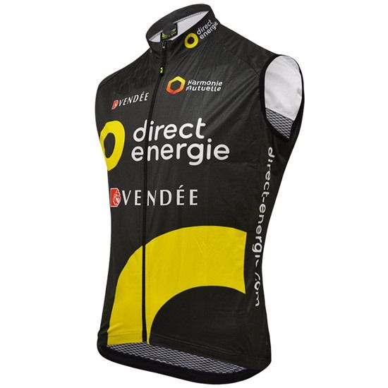 WINDSTOPPER WINDPROOF 2016 DIRECT ENERGIE PRO TEAM GILET SHORT SLEEVELESS VEST ROPA CICLISMO CYCLING JERSEY WEAR SIZE XS-4XL