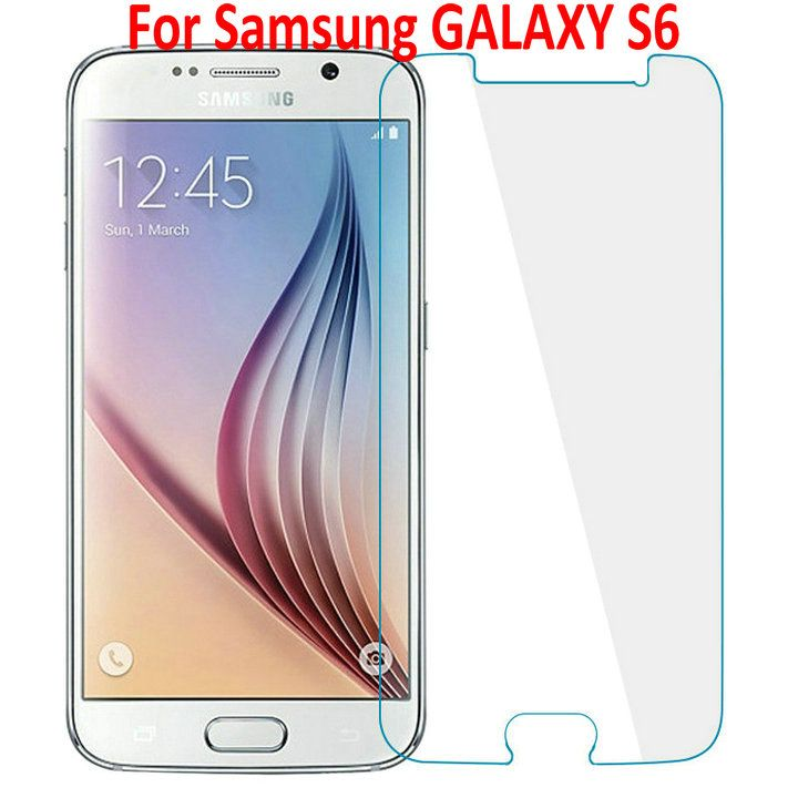 9H Tempered Glass Protective Film For Samsung GALAXY S6 S 6 G9200 G920 Tempered Glass Screen Protector For Samsung GALAXY S6