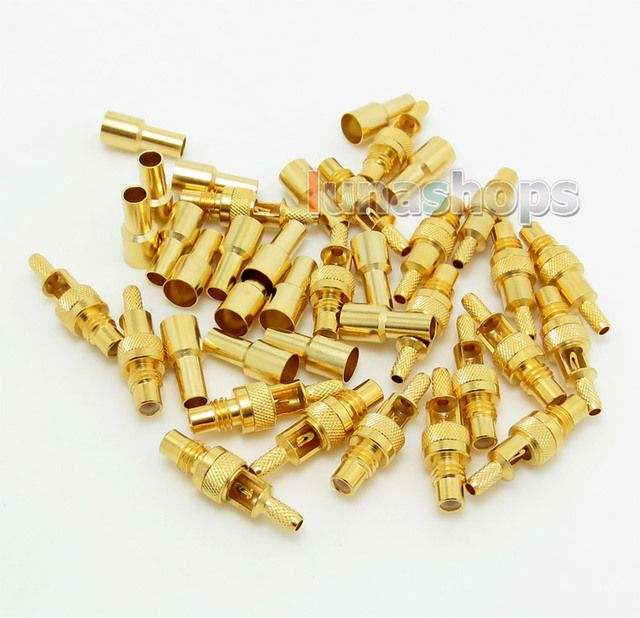 DIY Female Pins for HiFiMan he6 he500 Headphone Earphone