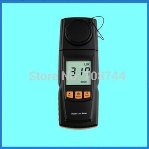 GM1020 LCD Display Handheld Digital Lux Light Meter Photometer Up to 200,000 Lux Stock Offer