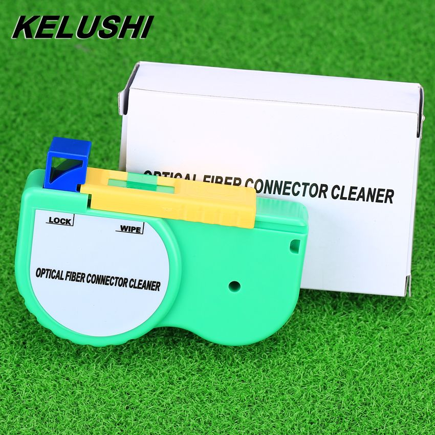 KELUSHI 2018 High quality Optical Fiber Cleaning Tool Fiber Optic Connector Cleaner