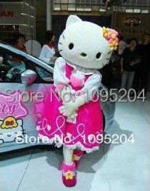 BING RUI CO Adult size of high quality 4 styles hello kitty Mascot Costumes hello kitty Mascot costume adult size
