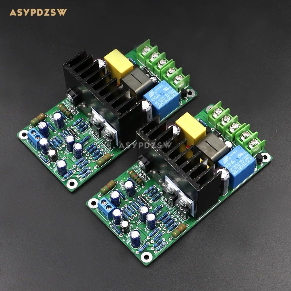 NEW Dual channel L15D-PRO Class D IRS2092 IRFB4019 Stero Power amplifier finished board (2 boards) 300W