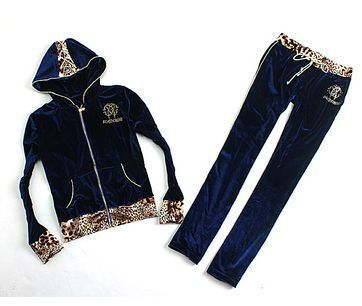 Velvet Hoody Suit Women Sportswear &Top Pants&Casual 2 Piece Set Casual Clothing Set Velvour Hoodies &Sweatshirts Leopard Patch