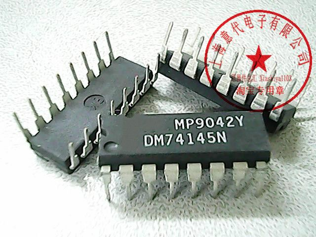 10Pcs DM74145N 74LS145 New