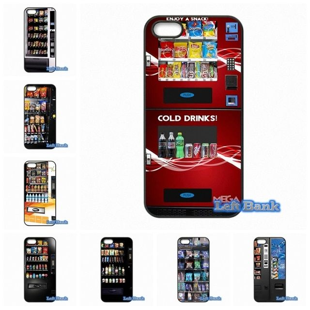 Snack Vending Machine Phone Cases Cover For Samsung Galaxy Note 2 3 4 5 7 S S2 S3 S4 S5 MINI S6 S7 edge