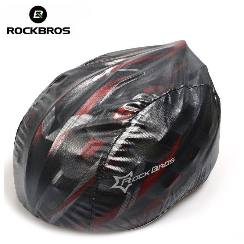 ROCKBROS Cycling Helmet Cover Ultralight Windproof Dustproof Rain Cover MTB Road Bike Helmet Cover Bicycle Helmets Accessories