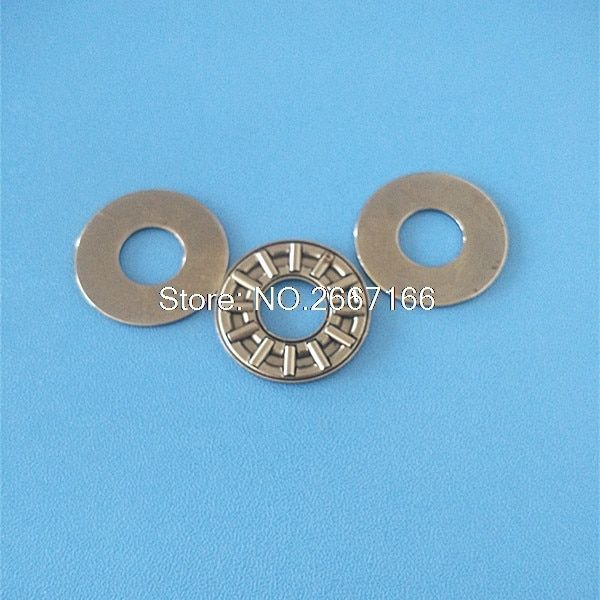 2Pcs AXK6085 & 2AS 889112 Thrust Needle Roller Bearing & Washers 60 x 85 x 3mm Free shipping High Quality