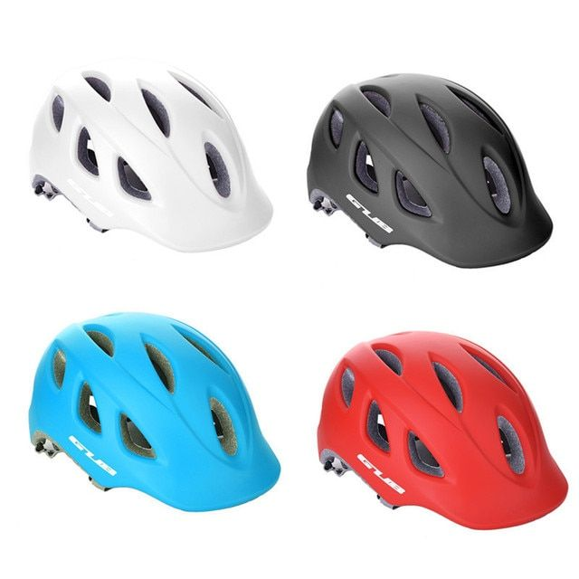 GUB Ultralight Integrally-molded Cycling Helmet MTB Road Bike Casco Ciclismo Safe Cap Unisex 18 Air Vents 57-60cm Bicycle Helmet