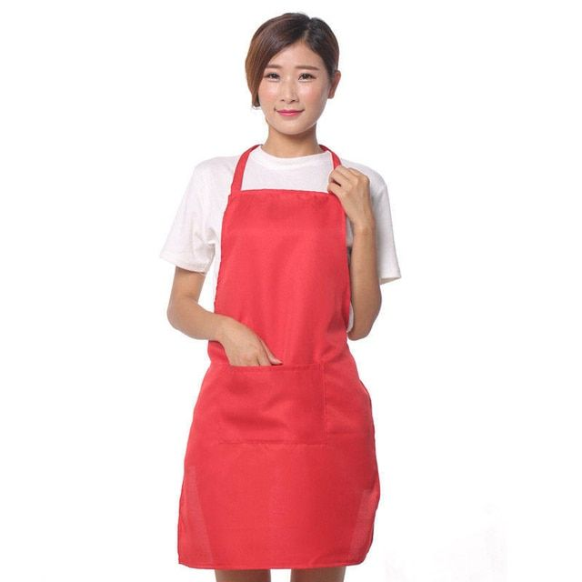 Unisex Restaurant Home Kitchen Cooking Craft Work Commercial Kit Apron With Pockets For Women Men Custom Aprons summer Thin