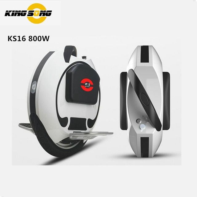 2016 KINGSONG KS16 Hoverboard Unicycle Smart Balance Scooter Build-in Handle Single Wheel Skateboard Bluetooth 800W 30KM/H