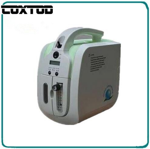 COXTOD FDA CE Approved Car Use Oxygen Concentrator/Generator 110V-240V DC12V Car Adapter Portable Oxygen Machine Home Use JAY-1