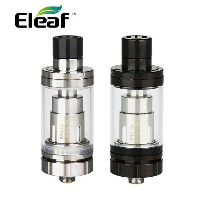 New Original Eleaf Melo RT 22 Atomizer 3.8ml w/ New ER 0.3ohm Head Top Filling Detachable Structure Tank Diametter 22mm