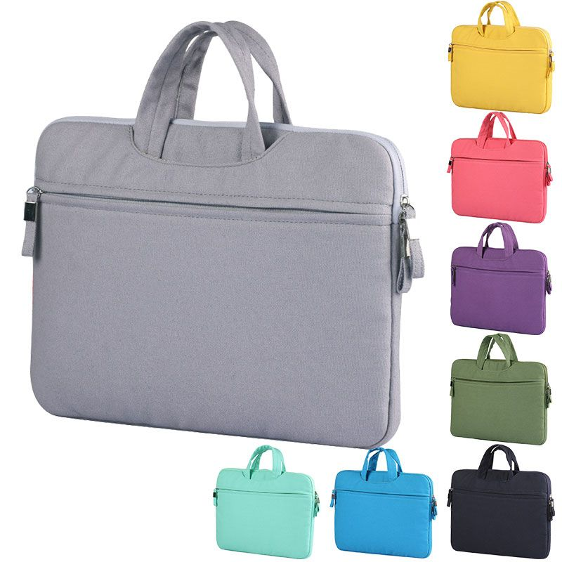 "New Notebook Laptop Sleeve Carry Bag For MacBook Air/pro 12"" 13"" 15''Pro Retina zipper laptop briefcase sleeve case cover pouch"