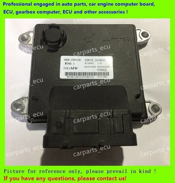 For Wuling Baojun car engine computer/MT60 ECU/ Electronic Control Unit/Car PC/B6000668/28362089/28292999/24558463/23864181