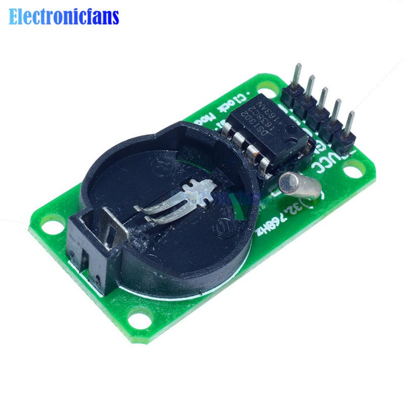 100% Standard DS1302 Real Time Clock Module With CR2032 For Arduino Uno 30185 AVR ARM PIC SMD