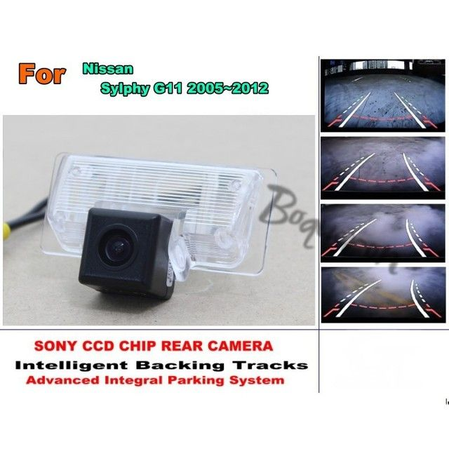 Intelligent Car Parking Camera / For Nissan Sylphy G11 2005~2012 with Tracks Module Rear Camera CCD Night Vision