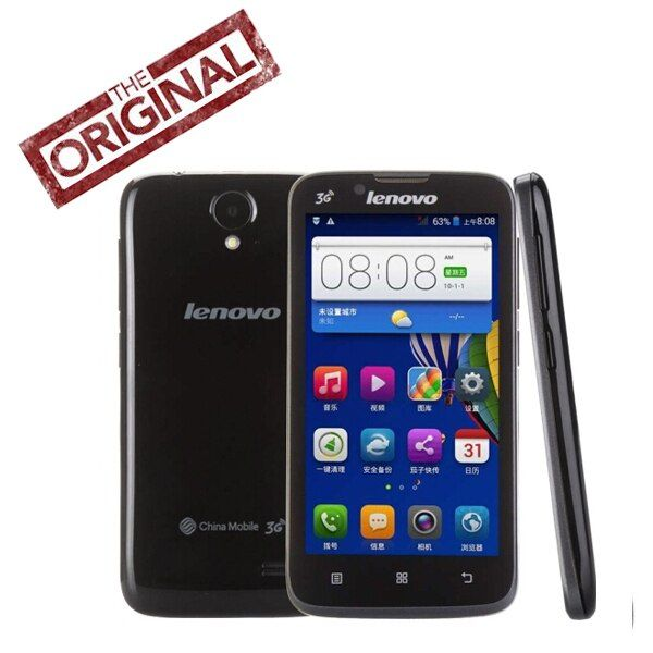 Original Lenovo A338t Mobile Phone Android4.4.2 MTK6582 Quad Core 1.3GHz 4GB ROM 4.5'' TFT Wifi Bluetooth  5.0MP Camera / SIM