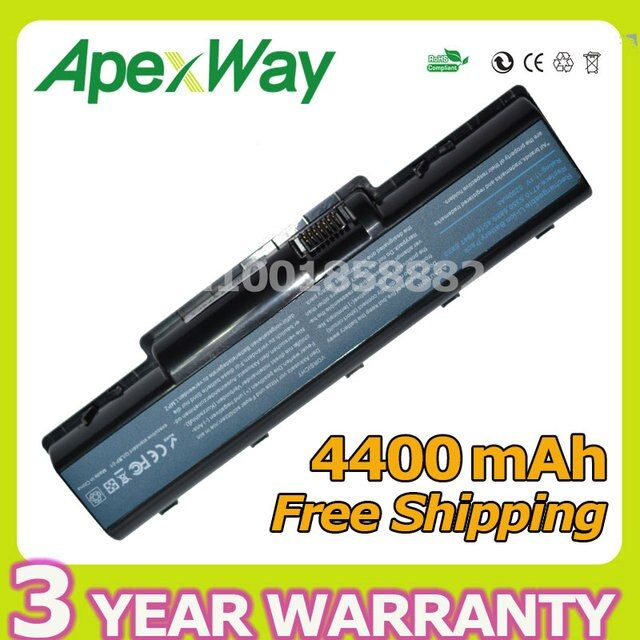 Apexway 4400mAh 6cells laptop battery for Acer Aspire 2930 4710 4930G 5740 5737Z AS07A31 AS07A71 AS07A75 BT.00603.036