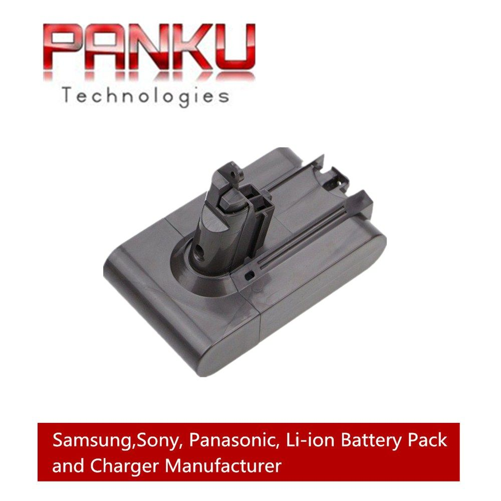 Replacement 21.6V 2.2Ah Li-ion Battery For Dyson V6 DC58 DC59 DC61 DC62 Handheld  Animal Vacuum Cleaner