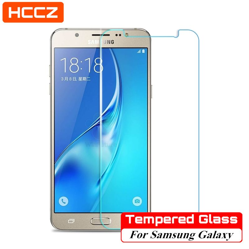 HCCZ for Samsung Galaxy A5 A3 A7 J5 J3 J7 J1 2016 S6 S5 S4 S3 Mini Glass  Screen Protector Tempered Glass Protective Film