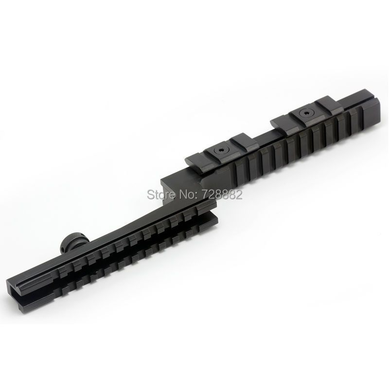 Tactical AR15 M16 Z-Type Carry Handle Scope Mount 20 Weaver Rail Mount with Side Off-set Weaver Mount Base Free Shipping
