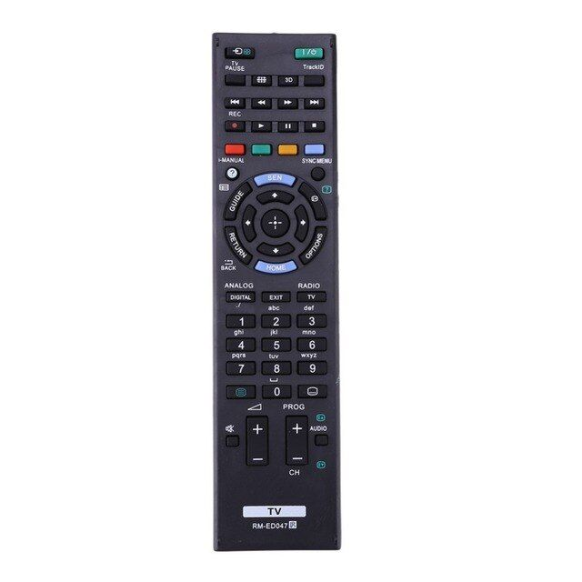 New promotion Replacement Remote Universal Plastic Remote Control Controller Suitable For Sony TV RM-ED047