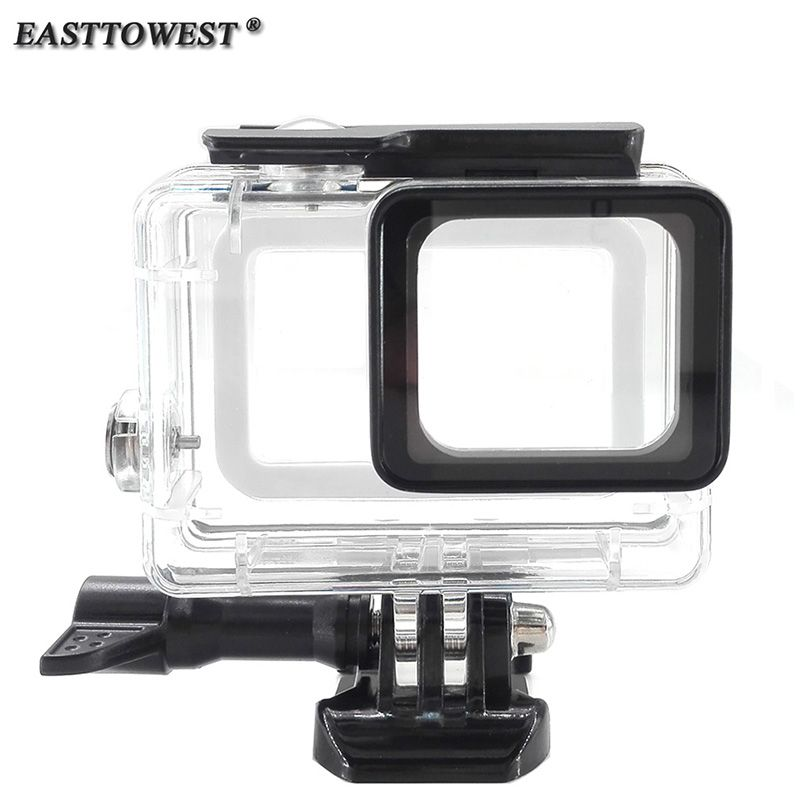 Easttowest Gopro Hero 5 Accessories 45m Waterproof Housing Underwater Diving Case For Gopro Hero 5