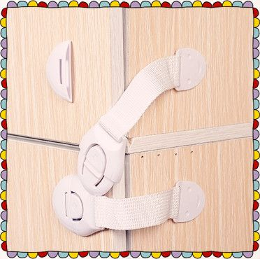 10 pieces Baby baby child safety lock 3M glue drawer cabinet door lock with single function extension