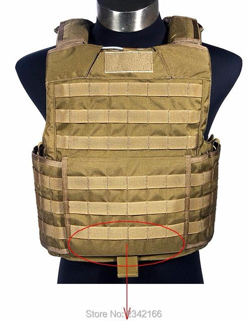 Hot Saling FLYYE genuine MOLLE Releasable Body Armor Vest Military Tactical Vest VT-M029