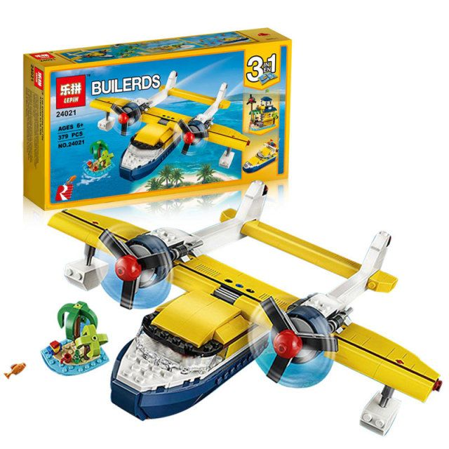 Lepin 24021 Changing Series The Pirate Adventure Tour Set Children Educational Building Blocks Bricks Toys Model With 31064