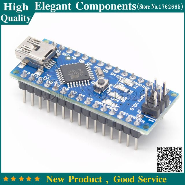 Nano 3.0 V3.0 with ATMEGA328P Module 6 PWM ports FTDI Chip (FT232RL) Support Win7 Win8 Controller Board For Arduino