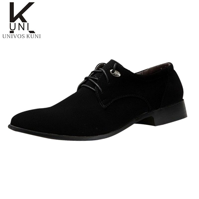 Hot Sale Men Shoes Leather Man's Flats Causal Fashion Men's Business Dress Shoes Brand Oxford Shoes CX162