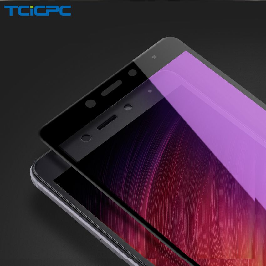 TCICPC For Xiaomi Redmi Note 4 4X Tempered Glass 9H Full Cover Protective Glass For Redmi Note 4 4X Global Screen Protector Film