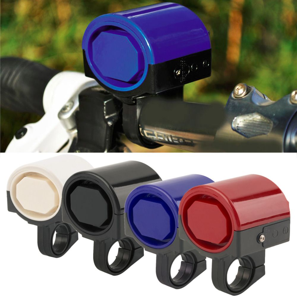 MTB Road Bicycle Bike Electronic Bell Loud Horn Cycling Hooter Siren Holder With more than 90 db sound free shipping