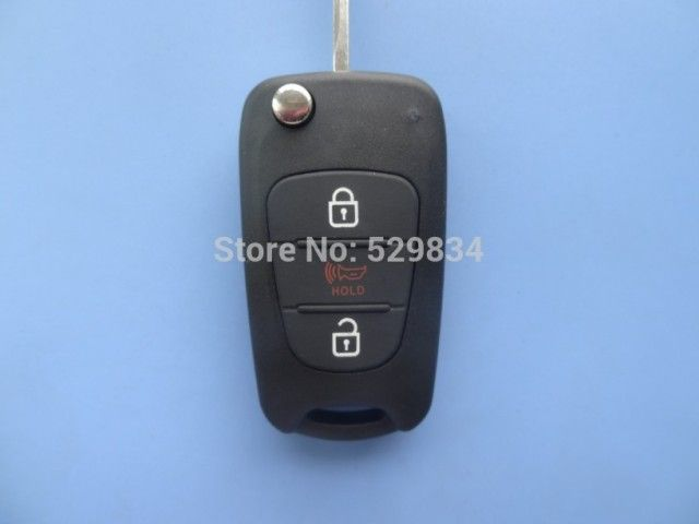 Free Shipping Replacement key shell for KIA SOUL key Fob Shell Case Cover