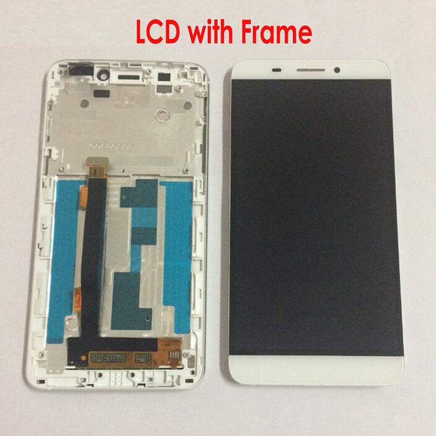 LTPro Original New LCD Display Touch Screen Digitizer Assembly + frame For Letv Le One 1 X600 X608 Phone Replacement Parts