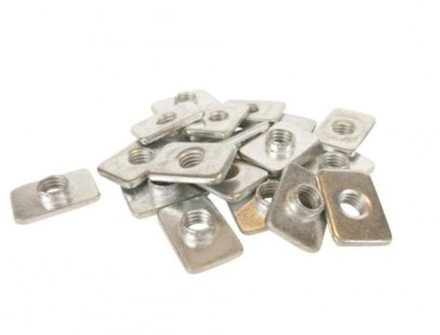 SWMAKER 50 pcs M5 insertion nut -T-Slot Nuts for Shapeoko OX C-beam machine T-Slot Nuts for aluminum extrusion 2020
