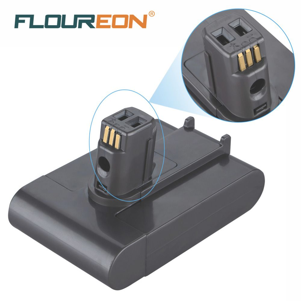 FLOUREON 22.2V 2000mAh Battery For Dyson DC31 DC34 DC35 Vacuum Cleaner 917083-01 (NOT fit for Type B series) Li-ion