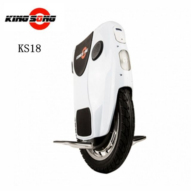 Original Kingsong KS18 One Wheel Smart Electric Self Balance Scooter 1200w motor 680/1360wh lithium-ion battery with Bluetooth