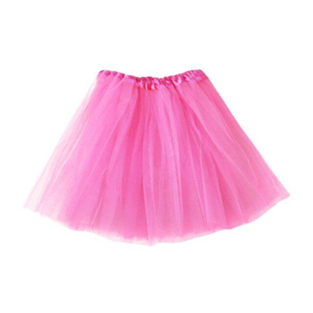 Candy Color Girl Women Adult Tutu Skirts Mini Ballet Princess Fancy Skirt Partywear