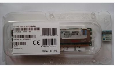 free ship ,500666-B21 16GB REG PC3-8500 380G6 server memory