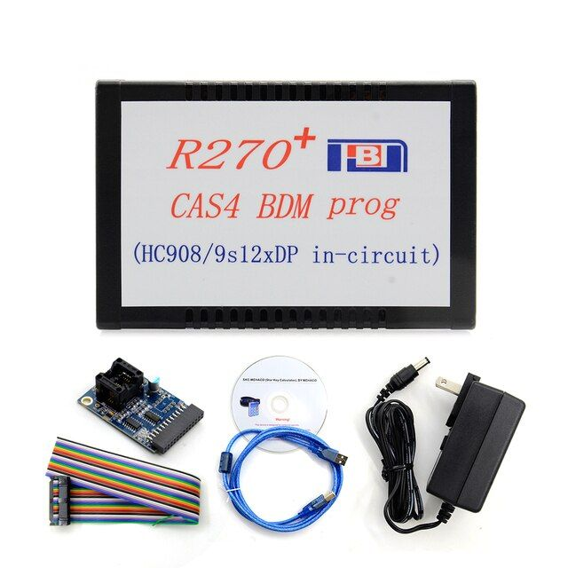 2017 Top Rated Professional R270+For BMW CAS4 BDM Programmer Auto Key Programmer R270 CAS4 Free Shipping